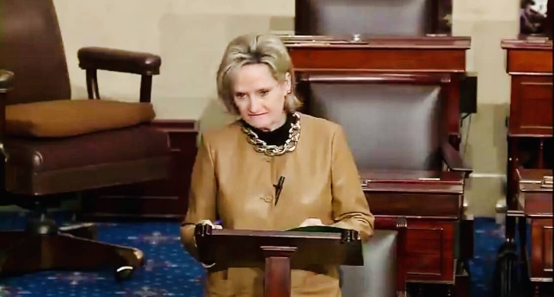 While Kids Died at Saugus High, Senator Cindy Hyde-Smith Blocked Background Check Bill