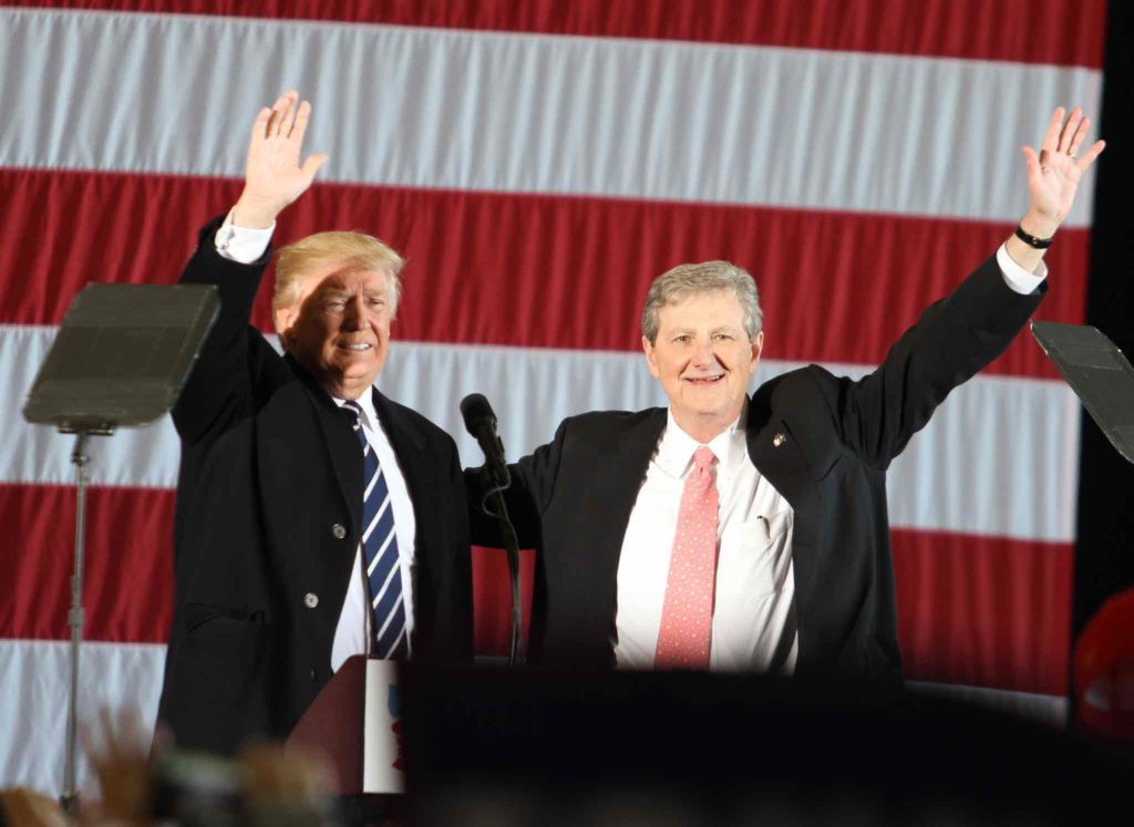 Donald Trump and John Kennedy